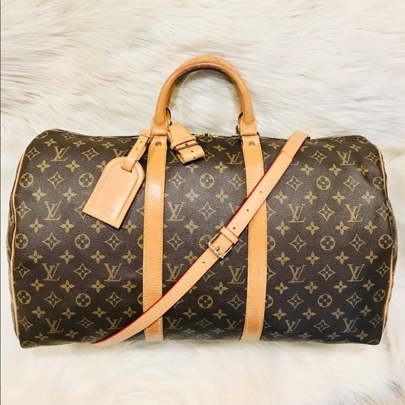 Louis Vuitton Handbags - Authentic Louis Vuitton Keepall 50 #8.7z